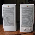 apple powered speakers